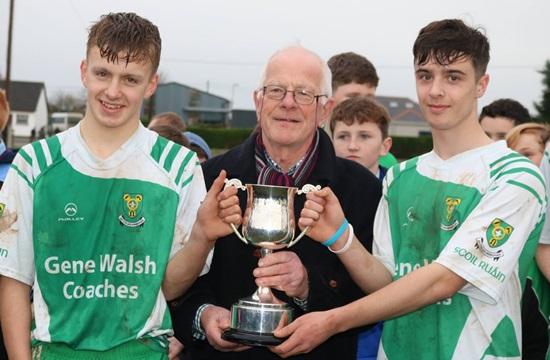 Corn an Darra Ui Dhonabhain (16.5 C Hurling) Final – Scoil Ruain Killenaule 1-10 St Annes CC Killaloe 1-8