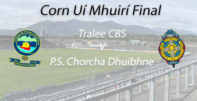 Corn Ui Mhuiri Football Final – P.S. Chorcha Dhuibhne 2-13 Tralee CBS 1-10