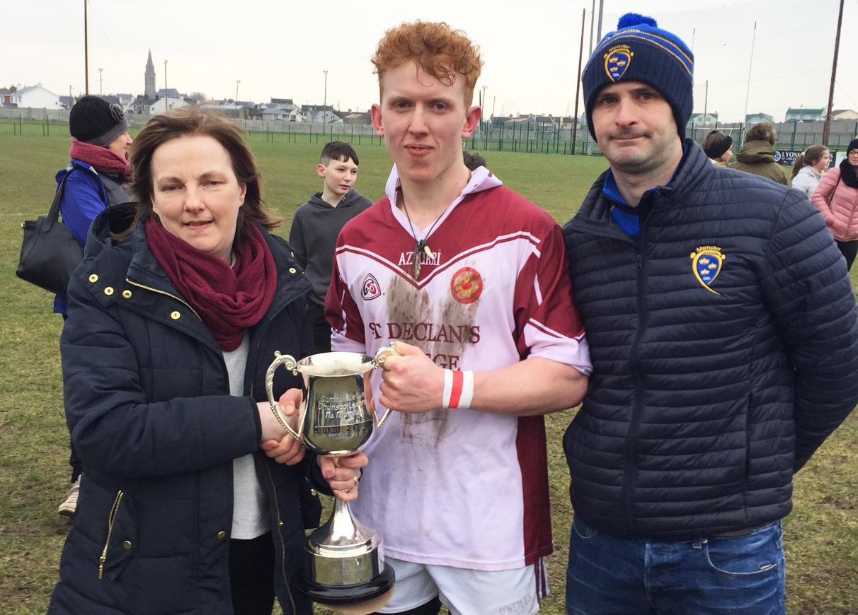 Corn Sheáinmhic Mhurchidh (Under 18 ½ C Football) Final –  St. Declan's Kilmacthomas 2-7 Ennistymon CBS 1-8 – Match Report / Photos