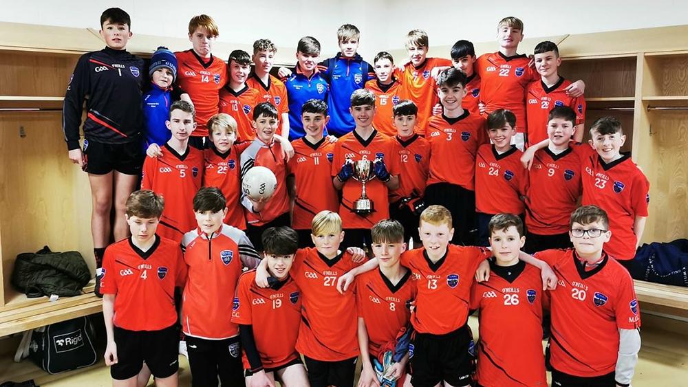 Mungret CC win 2019/2020 Munster Under 15 E Football Final