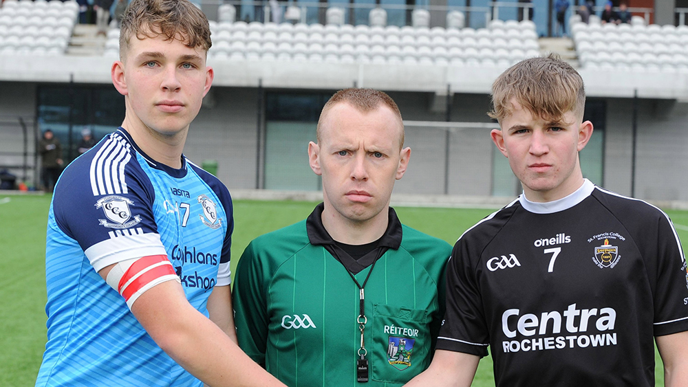 2019 / 2020 Corn Uí Mhuirí Under 19 A Football Quarter-Final – St Francis, Rochestown 4-11 Clonakilty Community College 2-13