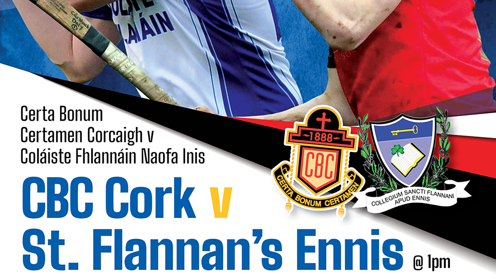2019 / 2020 Dr. Harty Cup Final – CBC Cork v St. Flannans Ennis